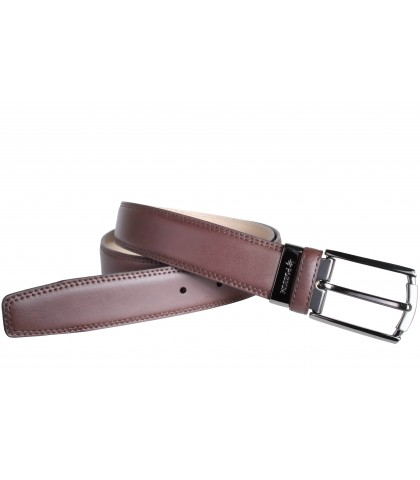 CLASSIC LEATHER BELT WITH...