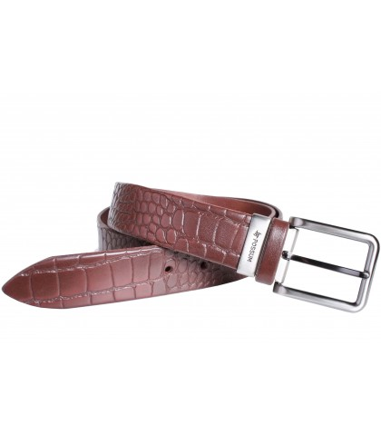 Cinturón imitación cocodrilo