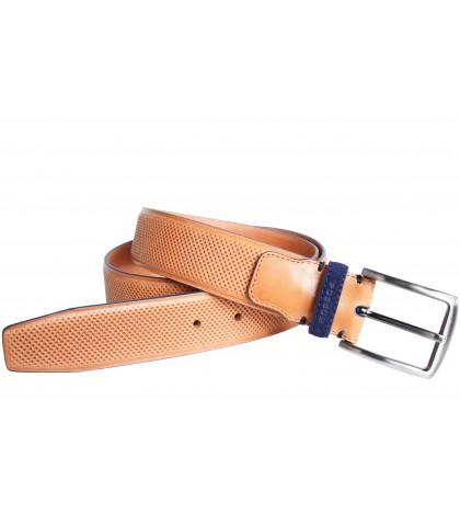 Cinturón sport vaquetilla...